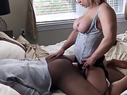 Big Tits Pegging