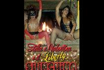 Stella e Valentina e il Liberty si inchina
