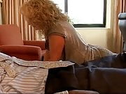 Curly Blonde Slut takes meets up for another BBC