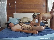 Shibary and group sex by crazy russian