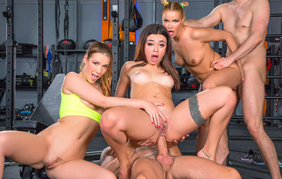 Martina Smeraldi, Alexis Crystal, Cherry Kiss - Celebratory Orgy