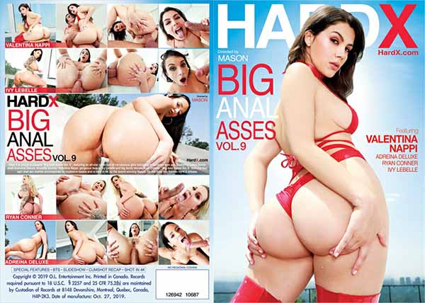 Big Anal Asses 9 Valentina Nappi